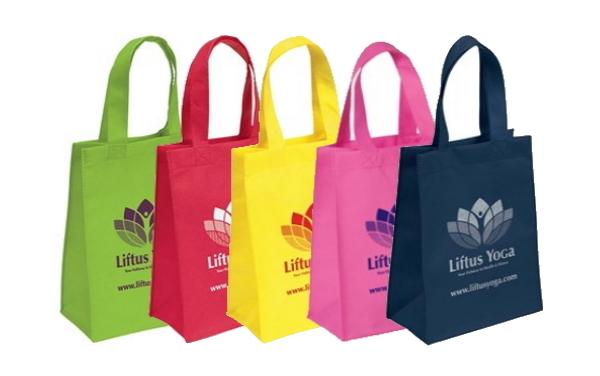 Free HALO Small Non-Woven Tote Bag