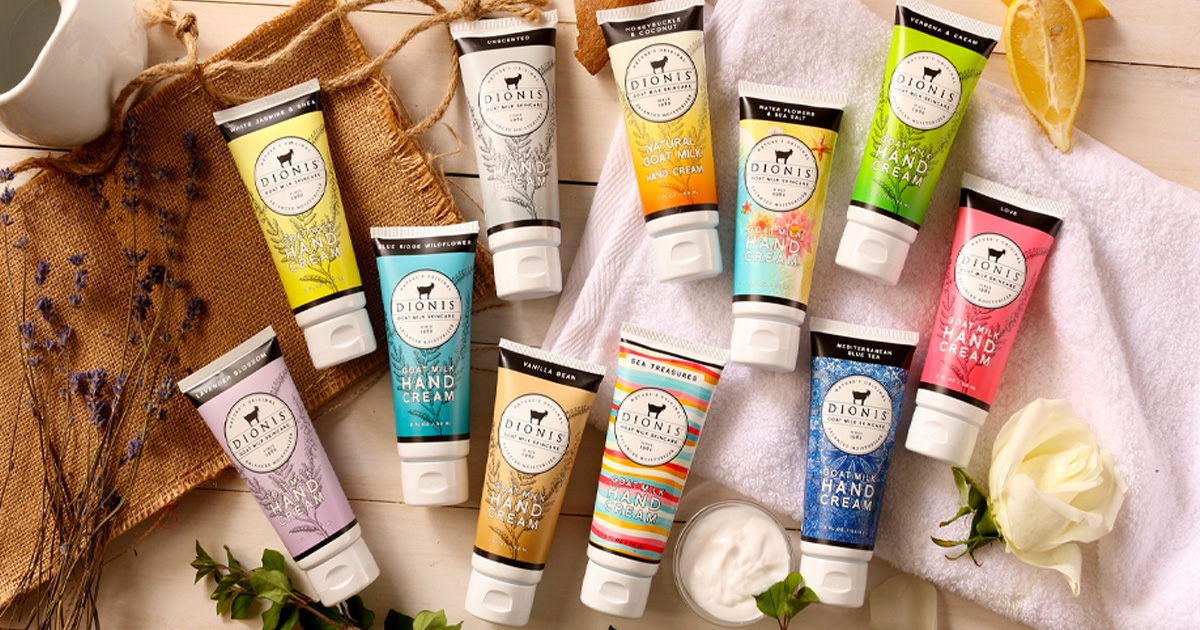 Free Dionis Goat Milk Skincare Products