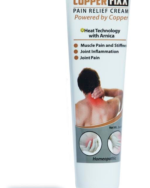 Free COPPERFIXX Pain Relief Cream