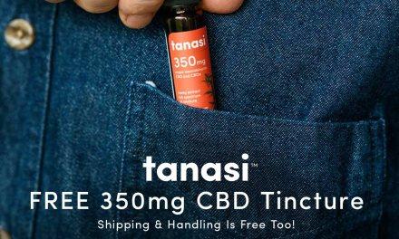 Free Sample of Tanasi Flavored CBD Tincture