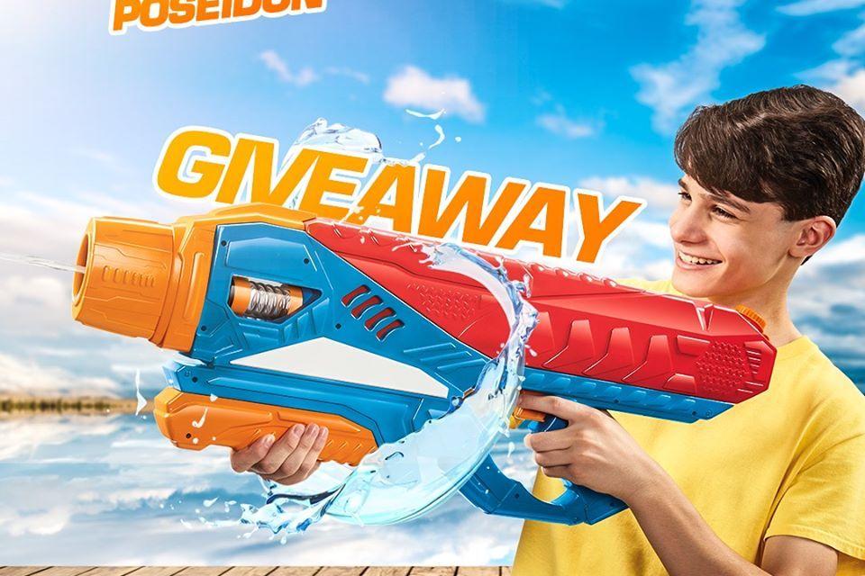 Buzz Bee Water Blaster Giveaway