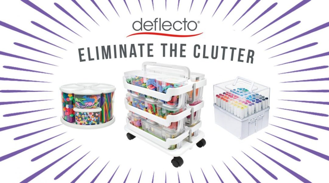 free-deflecto's-eliminate-the-clutter-party