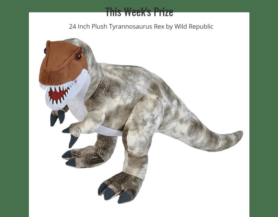 stuffed-t-rex-giveaway
