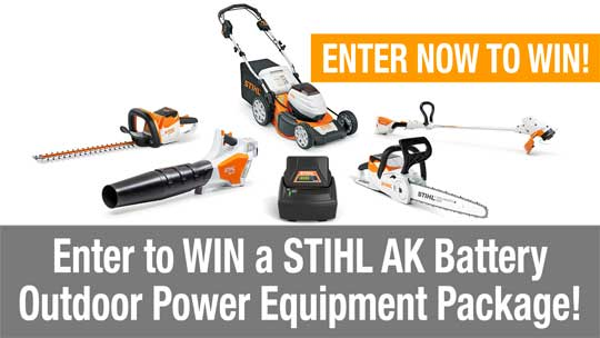STIHL Tools Prize Pack Giveaway