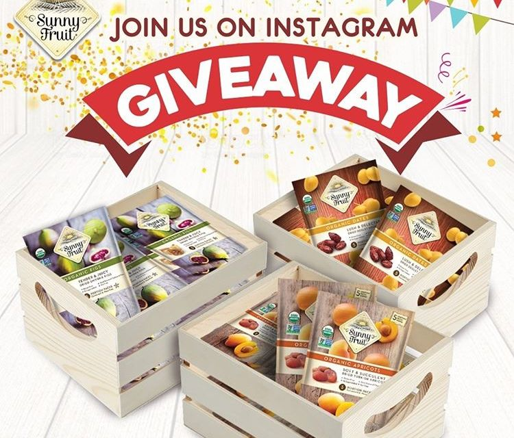Sunny Fruit Instagram Giveaway