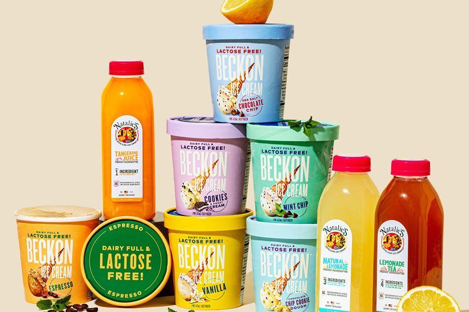 Natalie's Orange Juice + Beckon Ice Cream Giveaway