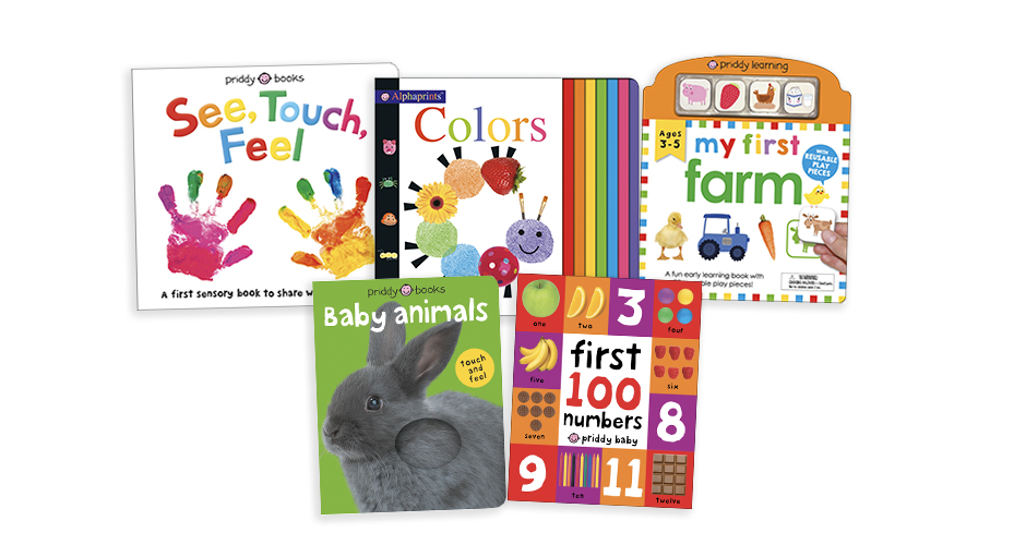 Free Priddy Books Early Learning Collection