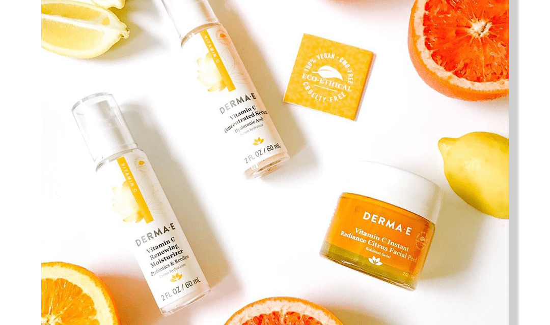 FREE 3,000 Derma E Vitamin C Serum and Moisturizer Samples