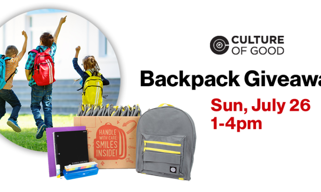 Free Backpacks with Supplies