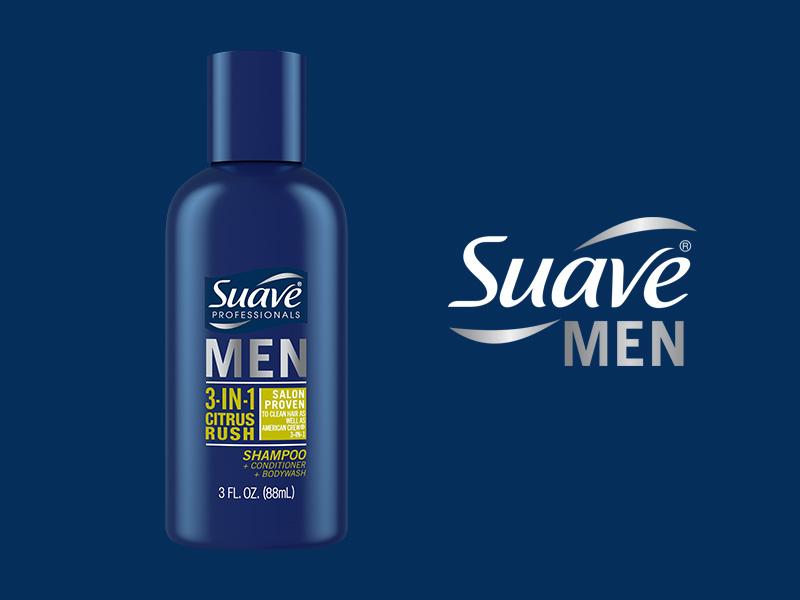FREE Suave Men 3-in-1 Citrus Rush Samples