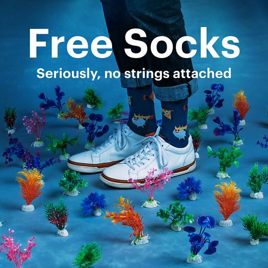 SCORE FREE SOCKS