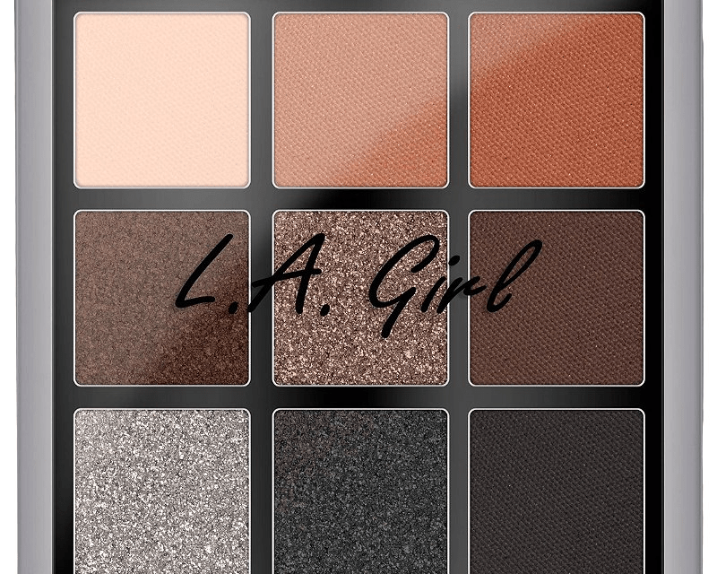 Free LA Girl Eyeshadow Palette
