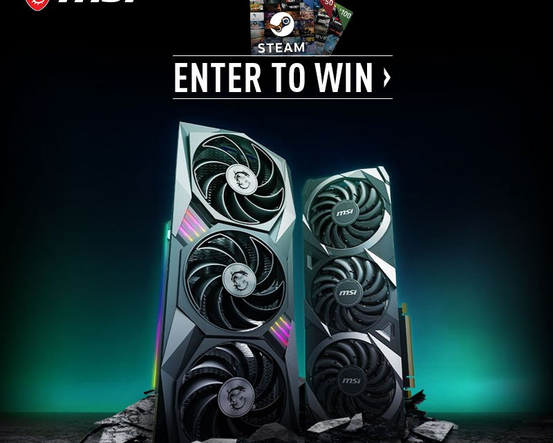MSI Gaming RTX 3080 Launch Giveaway