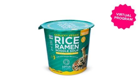 Free Garlicky Veggie Rice Ramen Soup