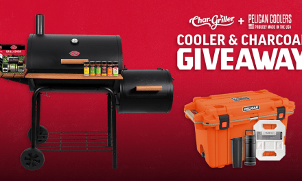 Cooler & Charcoal Giveaway