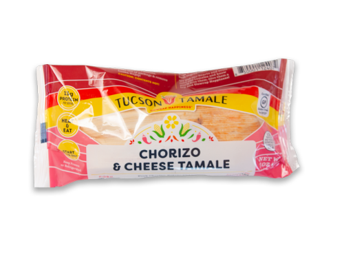Free Chorizo and Cheese Tamale