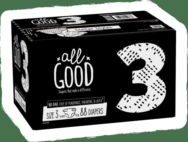 FREE All Good Diaper Samples