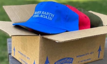 FREE Make Earth Cool Again Hat Box