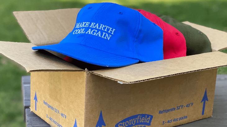 FREE Make Earth Cool Again Hat Box