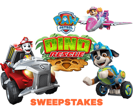 October 2020 PAW Patrol Dino Rescue Sweepstakes