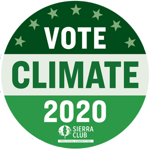 Free Vote Climate 2020 Sticker