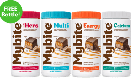 Free Bottle of Mybite Chocolate Vitamins