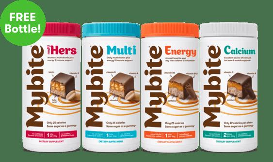 Free Bottle of Mybite Chocolate Vitamins