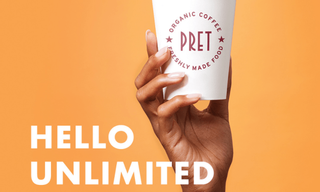 Free Hot or Iced Coffee at Pret A Manger on Fridays