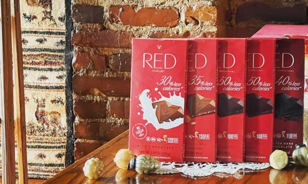 Free RED Chocolate Bar