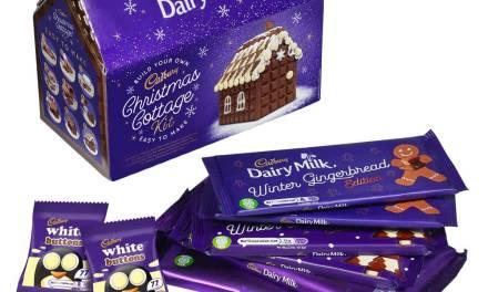 Free Cadbury Christmas Cottage Kits