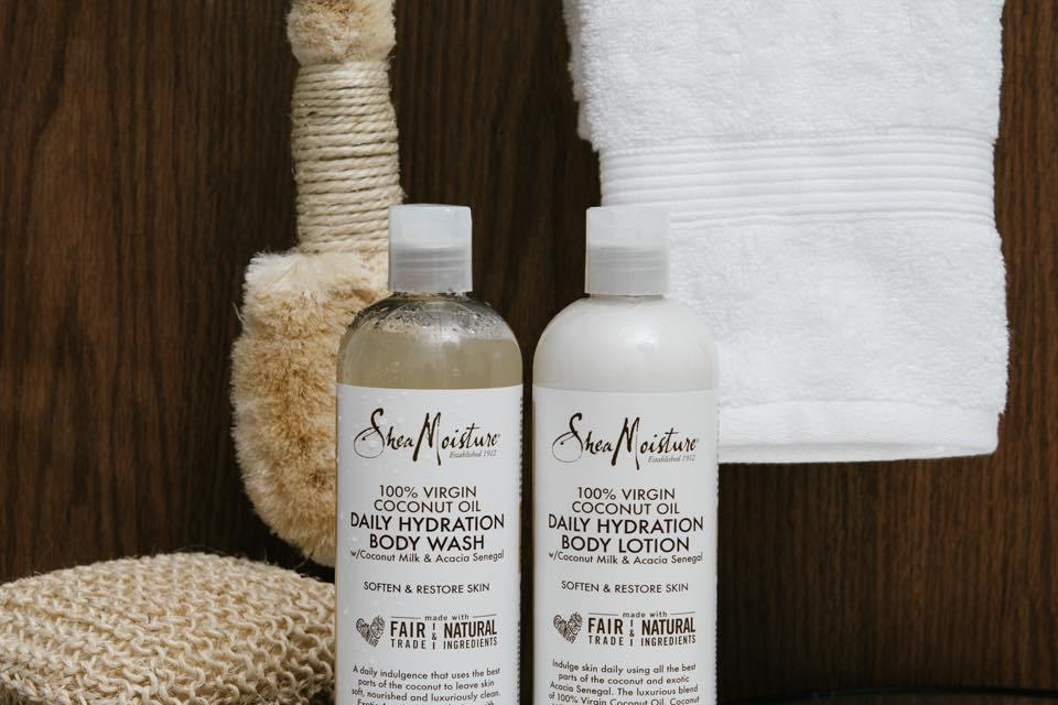 Free Sample of SheaMoisture Body Wash & Lotion