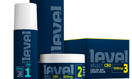 Free Sample of Level Select CBD Sports Cream Box