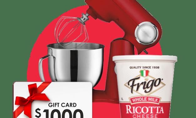Frigolotta Ricotta Instant Win Game