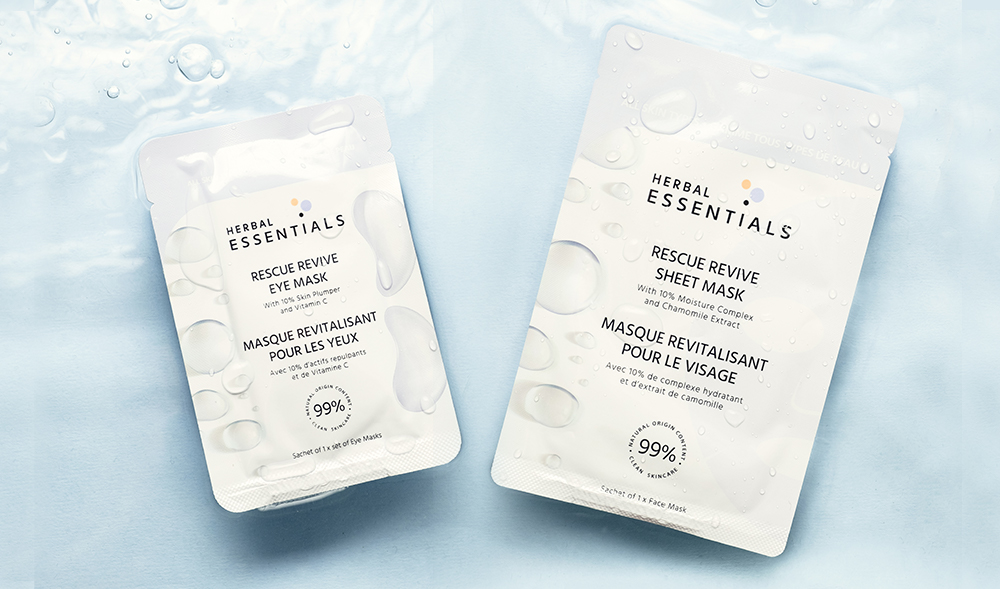 Free Herbal Essentials Sheet and Eye Mask