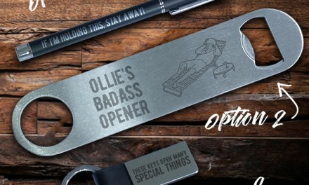 Free Promotional Pen, Bottle Opener, or Keychain
