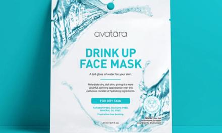 Free Avatara Drink Up Face Mask
