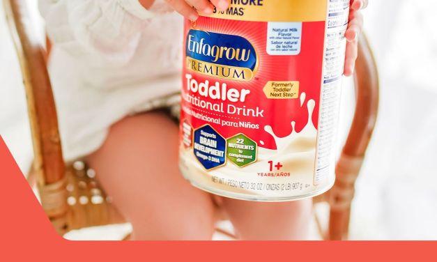 Free Sample of Enfagrow Toddler Formula