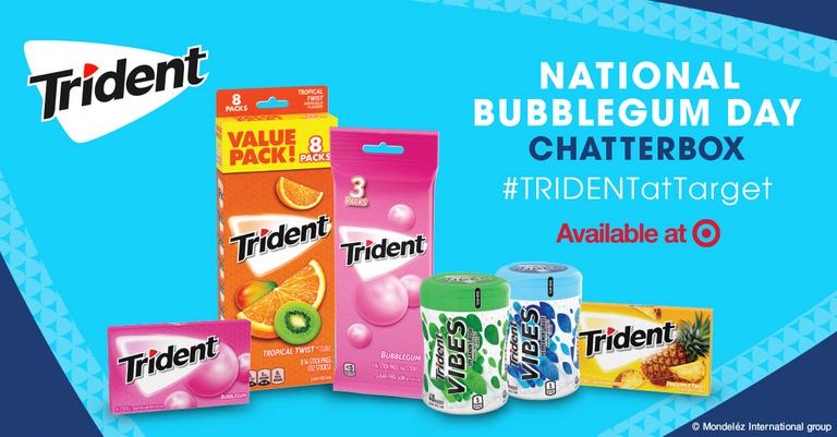 Free TRIDENT Bubblegum