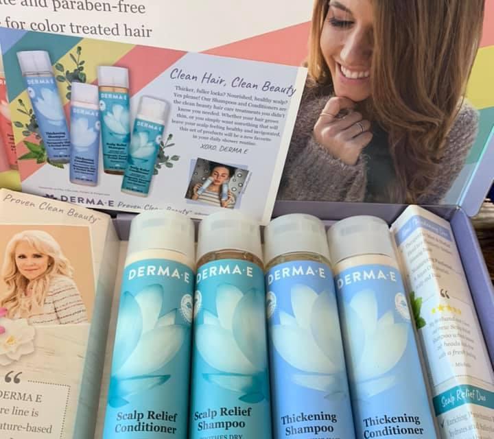 Free Derma-E Shampoo and Conditioner Sample