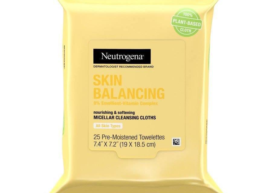 Free Neutrogena Skin Balancing Micellar Cleansing Cloths