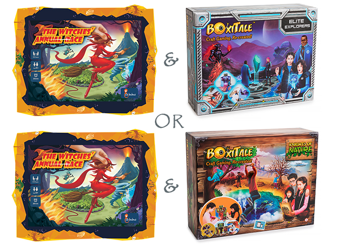 Free Boxitale Adventure Game Night Party Pack