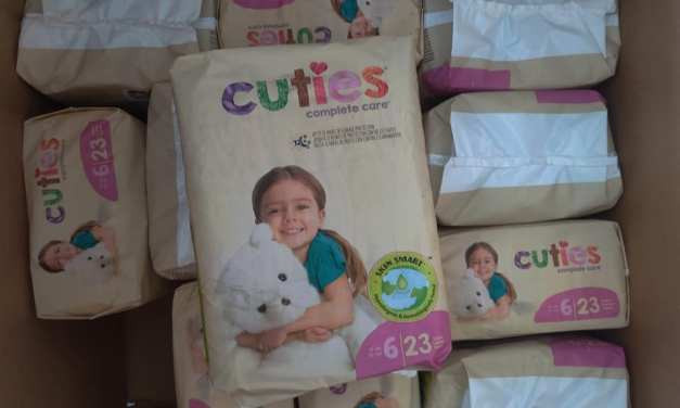 FREE Cuties Diaper Sample Box