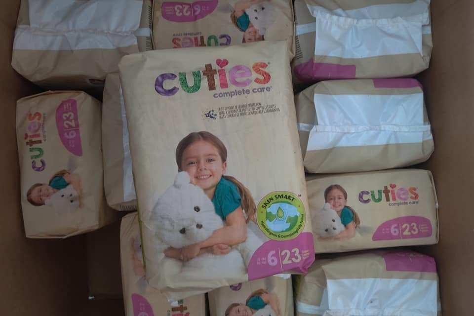 FREE Cuties Diaper Sample Box