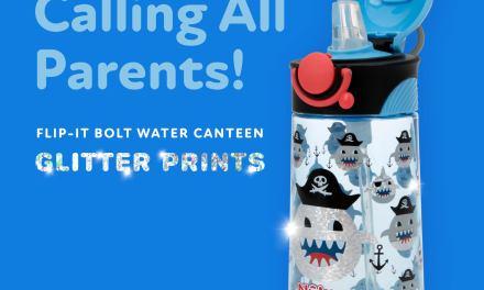 Free Thirsty Kids Bolt Water Bottle