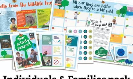 Free Wildlife Wallchart and Stickers