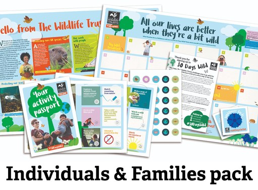 Free Wildlife Wallchart and Stickers