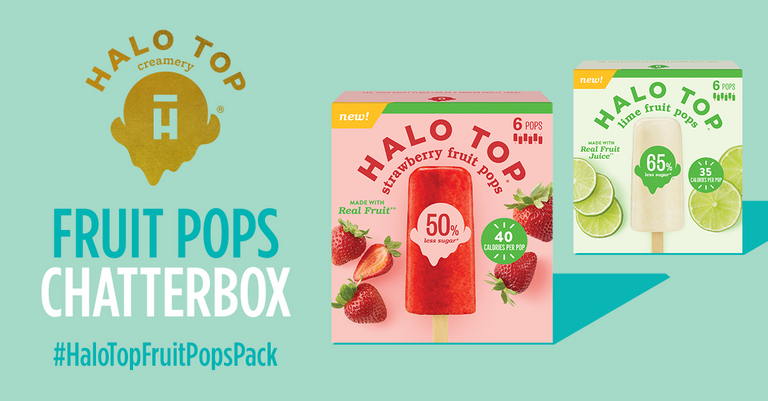 Free Halo Top Fruit Pops Chatterbox