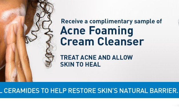 FREE CeraVe Acne Foaming Cleanser Sample