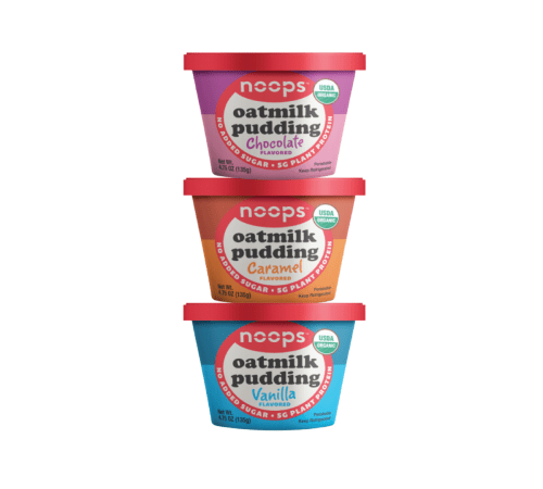 Free noop Organic Oatmilk Pudding