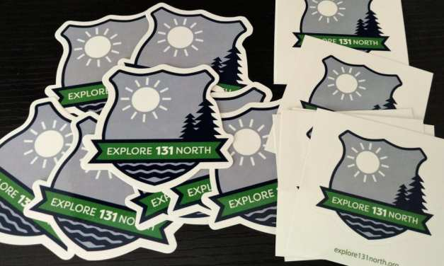 Free Explore 131 North Decal Stickers